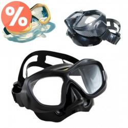 Poseidon ThreeDee - maska do nurkowania z korekcją, kategoria Maski do nurkowania z korekcją, cena 874,00 zł - OPK-M-58 - oku...