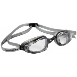 Aqua Sphere K180+ MP Clear Lens black/silver - okulary pływackie, kategoria Okulary pływackie dla dorosłych, cena 190,00 zł -...