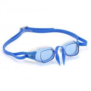 Aqua Sphere CHRONOS MP Blue white/blue - okulary pływackie, kategoria Okulary pływackie korekcyjne dla dorosłych, cena 110,00...