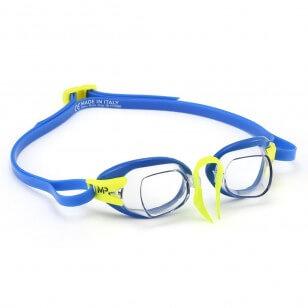 Aqua Sphere CHRONOS MP Clear blue/lime - okulary pływackie, kategoria Okulary pływackie korekcyjne dla dorosłych, cena 110,00...