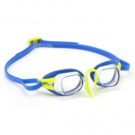 Aqua Sphere CHRONOS MP Clear blue/lime - okulary pływackie