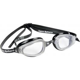 Aqua Sphere K180 MP Clear Lens silver/black - okulary pływackie, kategoria Okulary pływackie dla dorosłych, cena 155,00 zł -...