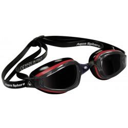 Aqua Sphere K180 MP Dark Lens red/black - okulary pływackie, kategoria Okulary pływackie dla dorosłych, cena 155,00 zł - emag...