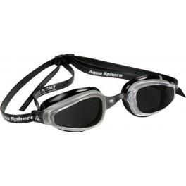 Aqua Sphere K180 MP Dark Lens silver/black - okulary pływackie, kategoria Okulary pływackie dla dorosłych, cena 155,00 zł - e...