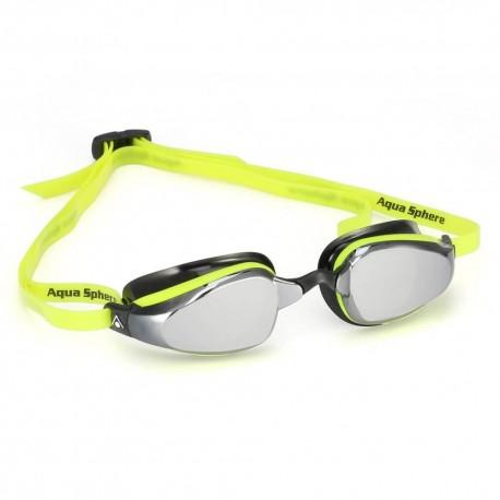 Aqua Sphere K180 MP Mirrored yellow/black - okulary pływackie, kategoria Okulary pływackie dla dorosłych, cena 180,00 zł - em...