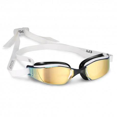 Aqua Sphere XCEED Titanium Mirror MP Gold white/black - okulary pływackie, kategoria Okulary pływackie dla dorosłych, cena 26...