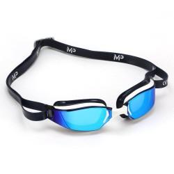Aqua Sphere XCEED Titanium Mirror MP Blue white/black - okulary pływackie