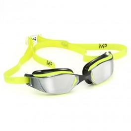 Aqua Sphere XCEED Mirror MP yellow/black- okulary pływackie, kategoria Okulary pływackie dla dorosłych, cena 219,00 zł - emag...