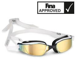 Aqua Sphere XCEED Titanium Mirror MP - okulary pływackie, kategoria Okulary Pływackie Michael Phelps, cena 263,00 zł - 158 - ...