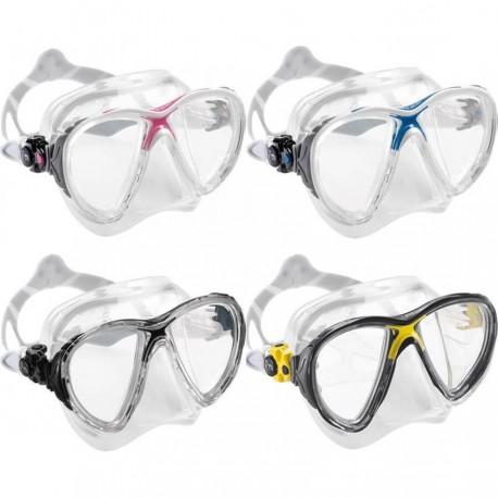 Cressi Big Eyes Evolution Crystal - maska do nurkowania z korekcją, kategoria Maski do nurkowania z korekcją, cena 800,00 zł ...