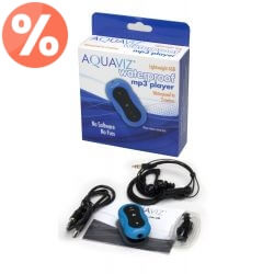Aquaviz Player MP3 Wodoodporny 4GB - model Standard, kategoria MP3 Player, cena 349,00 zł - OPK-A-42 - okulary-plywackie-kore...