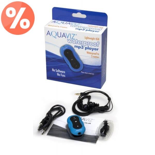 Aquaviz Player MP3 Wodoodporny 4GB - model Standard