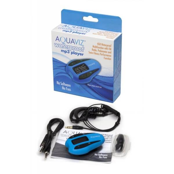 Aquaviz Player MP3 Wodoodporny 4GB - model Radio & Fitness